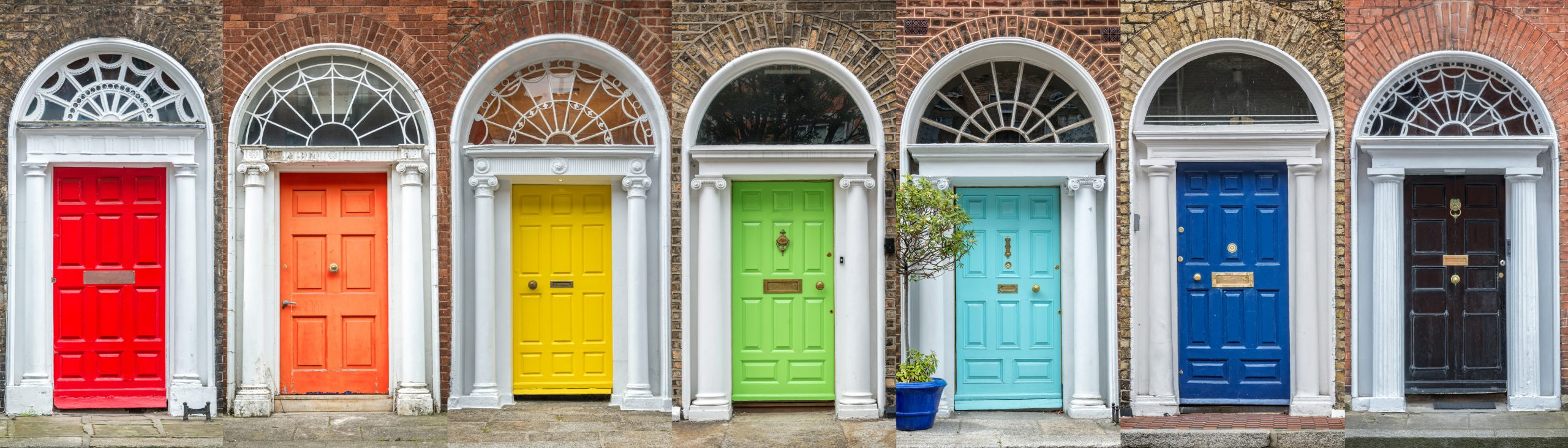 Can the colour of your front door help sell your home faster?